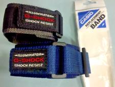 Cinturino Casio DW-002BD in tessuto nautico G SHOCK ILLUMINATOR