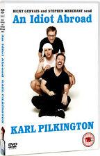 AN IDIOT ABROAD KARL PILKINGTON - DVD - REGION 2 UK
