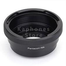 Camera Adapter For Pentacon 6 Kiev 60 Lens To Nikon D750 D810 D4S D3300 Df D5300