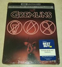 New Gremlins 4K Ultra HD/Blu-ray/Digital Code Steelbook™ Bestbuy Exclusive