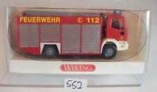 Wiking 1/87 no. 6230231 IVECO Eurofire kw2 vigili del fuoco OVP #552