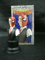 BOWEN DESIGNS WIZARD EXCLUSIVE PETER PARKER AS SPIDER-MAN BUST SCULPTED BY BOWEN
