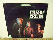 CREAM , FRESH CREAM, RARE 1967 EARLY CLASSIC ROCK STEREO LP