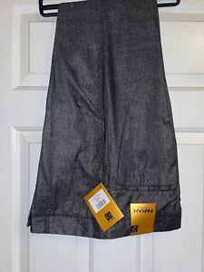 Farah Stilwell Casual Suit Trousers Regular Fit Grey W32 L31 New BNWT