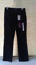 GLORIA VANDERBILT NWT Size 10 Stretch Short Black Jeans Straight Leg