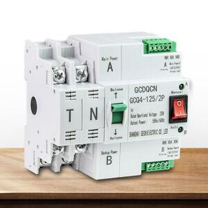 PC level 2P 63A 50HZ/60HZ Dual Power Automatic Transfer Switch Safe Breakers AU