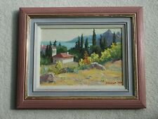 Russian Oil Painting by Valerian NESTEROV Roy Mills Gallery London label