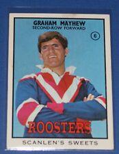 1968 Scanlens NRL Graham Mayhew Roosters - Excellent