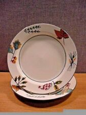 2 Hartstone Pottery USA Autumn Leaf FOREST Dinner Plates-Set of Two