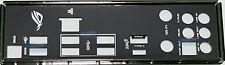 ASUS I/O IO SHIELD BLENDE ROG STRIX  X299-E GAMING, ROG STRIX X299-XE GAMING