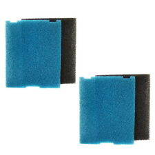 2-pack Flat Box Filter Pads for Tetra 19015, SF1 / 26592 Coarse & Fine Pads