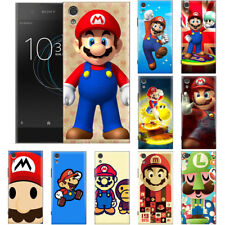 For HTC & Sony Xperia Super Mario Anime Manga Game Patterned Phone Case Cover