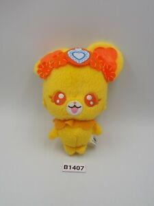 """Doki Doki Pretty Cure B1407 Precure Lance Banpresto 2013 Plush 4.5"""" Doll Japan"""