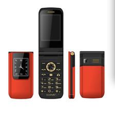Unlocked Slim Flip E9 Mobile Phone Dual Screen Senior Touch Dual Sim For Lady