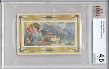 1927 Rud Starcke Olympus #3 ZEUS & HERA BVG 4.5 Greek Gods Victorian Card