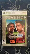 Pro Evolution Soccer 2008 (PES)  XBOX 360 SIGILLATO EDIZIONE ITALIANA CLASSICS