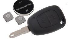 Fits Opel Vauxhall Nissan Vivaro Primastar Remote Key FOB Case Fix Repair Kit