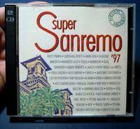 DOPPIO CD - SUPER SANREMO '97 - COLUMBIA -