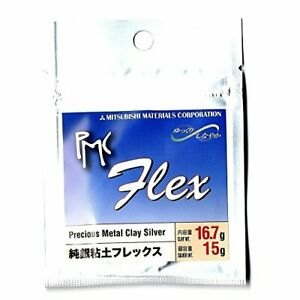 PMC Flex Metal Clay Silver 15gram (Japan Import) From Japan