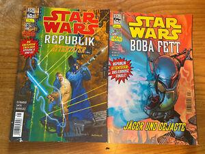 Star Wars Comics, Nr. 38&39- Republik - kompl. Zweiteiler - 2003 - Dino/Lucas