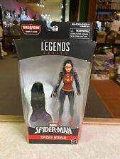 "Hasbro Marvel Legends 6"" Figure NIP NEW - BAF LIZARD Series SPIDER-WOMAN"