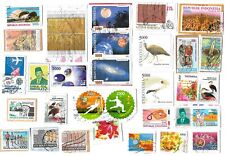 INDONESIA - Selection of Stamps on Paper from Kiloware - 2 scans