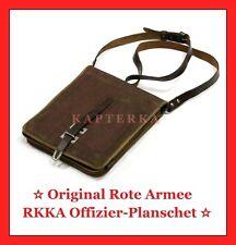 ☆ Original ☭ Russische Rote Armee RKKA Offizier-Meldetasche Planschet 1950-er ☆