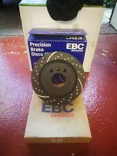 PD01KR113 EBC Rear Brake Kit Greenstuff Pads /& Standard Discs