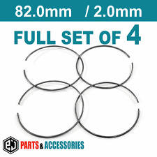 Set of 4 Spring Retaining Rings Metal Spring Clip for 82 mm BBS rings 09.23.415