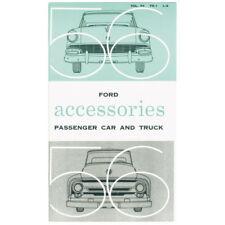 New 1956 Ford Car Truck Accessory Brochure Sales Literature Dealer Showroom