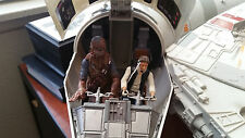 2008 STAR WARS LEGACY COLLECTION MILLENNIUM FALCON 100% Complete with Slave 1!