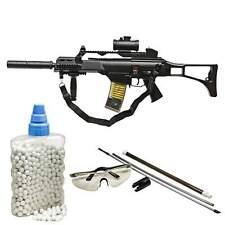 SET Heckler & Koch G36 C Softair-Gewehr 6 mm BB < 0,5 Joule (P14) + 800 BB