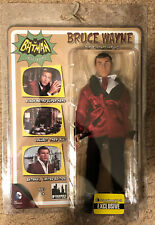 Batman Classic TV Series 8 Inch retro Adam West Bruce Wayne Lounge Jacket.