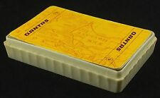 VINTAGE QANTAS AIRLINES NEW HOLLAND OLD WORLD MAP COLLECTOR - PLAYING CARDS DECK