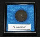 Original Civil War Confederate Artillery Block 'A' Button, dug Ft. Harrison