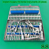 Dental Implant Surgery Kit - Set of 20 pieces Dentistry instruments DN-583