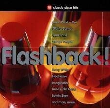 Flashback!-18 classic Disco Hits (1992) Imagination, Edwin Starr, Heatwav.. [CD]