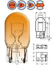 12V 21W T20 WEDGE ARANCIONE LAMPADINA FARO MOTO LAMPADA LAMPEGGIANTE VESPA 50
