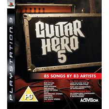 Guitare Hero 5 - PLAYSTATION 3 (Jeu Seulement)