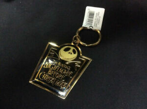 WHOLESALE lot of 10 Nightmare Before Christmas Jack Skellington Keychain Disney