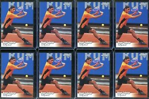 Roger Federer 8 Rookie Card Lot 2003 NetPro Tennis Cards #90  Switzerland