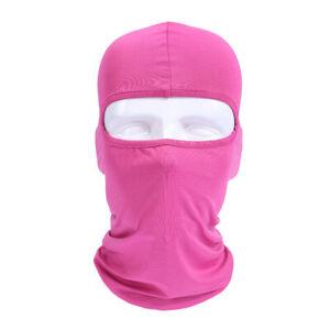 2 Pack Balaclava Face Mask Men Women Outdoor Motorcycle Bike Warmer Ski