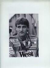 Bernd Schneider Zakspeed F1 Portrait 1988 Signed Photograph 1