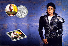 Michael Jackson-Limited Edition JFK demi-dollar coin
