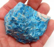 Natural Blue Apatite Rough Gemstone Specimen 156 g. B814