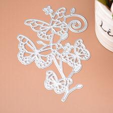 Schmetterling Stencil Cutting Dies Scrapbooking KarteTagebuch Stanzschablon I6F2