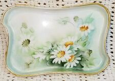 Antique Hand Painted La Seynie Limoges France PP Paroutaud Feres Signed S+N Dish