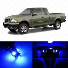 15 x Blue LED Interior Light Package For 1997 - 2003 Ford F-150 F150 + PRY TOOL