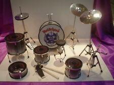 Miniature Drumkit (10cm Tall) : MOTORHEAD DRUMKIT