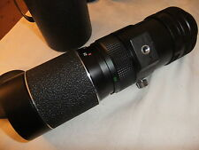 Camera lens SLR 42mm thread 90-230mm f 1:4,5 HANIMEX TELE ZOOM No. 7103641.  T2